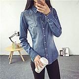 Blusa feminina jeans cod. 403