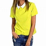 Blusa feminina amarela cod. 404