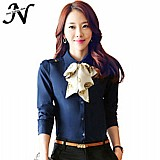 Camisa feminina azul cod. 498