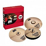 Kit de pratos para bateria sabian b8 5003nb performance set 14 16 20