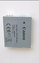Bateria original canon sx510 sx170 s200hs nb-6lh