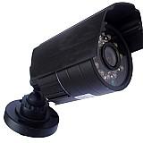 Cameras de seguranca bullet infra digital 24 leds 1200 linhas 3.6mm