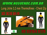 Long john 3.2 mm thermofinex - chest zip
