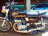 Moto suzuki gt 550 - 1974 - placa preta