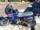 Moto nx 350 1992 azul honda