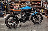Moto honda cb 400 cafe racer 1981 - customizada para venda