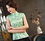 Blusa feminina verde cod. 724