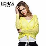Blusa feminina amarela com seda cod. 738