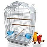 Gaiola papagaio calopsita usada
