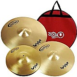 Kit set pratos orion twister twr90 - 14/16/20 bateria