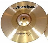 Prato chimbal anatolian diamond hybrid regular 13
