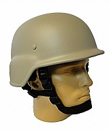 Capacete m88 - bege (tan) liso - tatico - paintball airsof