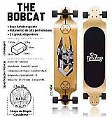 Kit longboard twodogs bobcat d2   capacete   kit de protecao