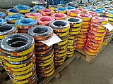 Super promocao em cabo flexivel 10 mm - 42 reais - 100 metros - varias cores