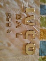 Emblemas letras da iveco 35s14