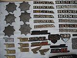 Emblemas de motos antigas honda