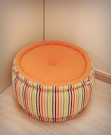Futon pufe (usado) - marca futon&home