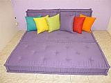 Sofa cama em futon turco