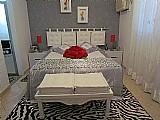 Cabeceira de cama e cama em futon 65 x 60 x 10