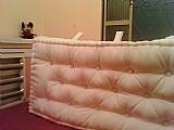 Cabeceira futon turco