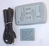 Bateria   carregador original canon sx510 sx170 s200hs nb-6lh