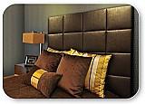 Cabeceira personalizada cama box casal queen king