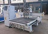 Cnc maquina de madeira router tres cabecas 1300 * 2500 milimetros