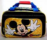 Mala de mao grande infantil mickey mouse original sestini