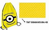 Mochila sacola bolsa sacochila de tnt personalizada minions