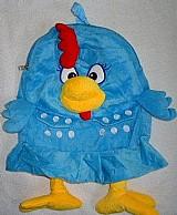 Mochila bolsa galinha pintadinha pelucia infantil escolar
