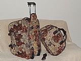 Kit bolsa de viagem feminina com rodinha *ursinho*
