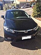 Honda civic sedan lxr 2.0 flexone 16v aut. 4p 2014 preto