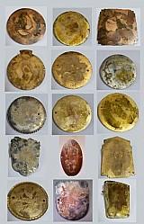 Medalhas e emblemas clubes carros antigos - importadas diversos paises