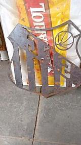 Emblemas de time em ferro