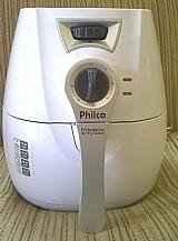 Fritadeira eletrica philco air fry saude com capacidade 2, 8l - branca 110v
