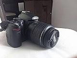 Camera nikon d5000   lente 55-200mm   tripe