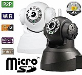 Camera ip wireless seguranca visao noturna con via internete