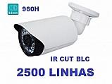 Camera profissional infravermelho ccd sony 1/3 1000 linhas