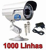 Camera ccd cftv infravermelho 36 leds 700 linha prova dagua