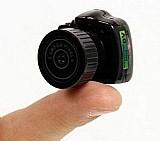 Mini camera espia filmadora hd camuflada sem fio