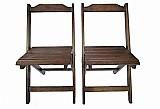 Cadeira pra restaurante brasilia dobravel de madeira reflorestada