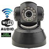 Camera seguranca vigilancia monitoramento wifi via internet