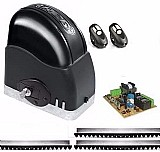 Kit motor para portao eletrônico deslizante 1/4 rcg 110v