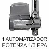 Kit motor portao eletrônico basculante ppa penta 1/2  brinde