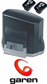 Kit motor portao eletrônico deslizante kdz speed garen 1/3hp