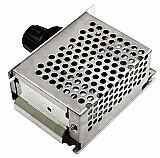 Dimmer 4000w regulador de tensao eletrica scr ac 0-220v