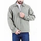 Jaqueta masculina com ziper jcanedo