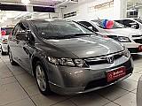 Honda civic lxs automatico 2008 cinza