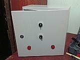 Painel eletrico de comando p/ uma bomba de 25 cv de incendio