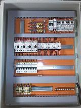 Painel eletrico usado controle camara temperatura umidade